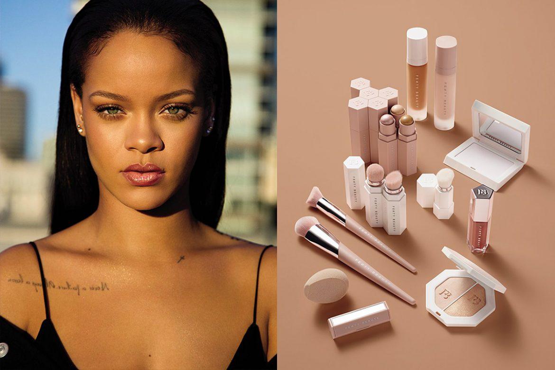 Rihanna kozmetik markasında 1 yaşında